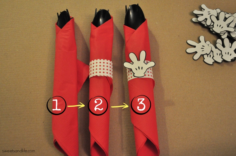 Diy Mickey Mouse Cutlery Sweets And Life