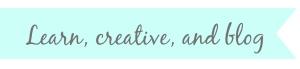learn creative blog