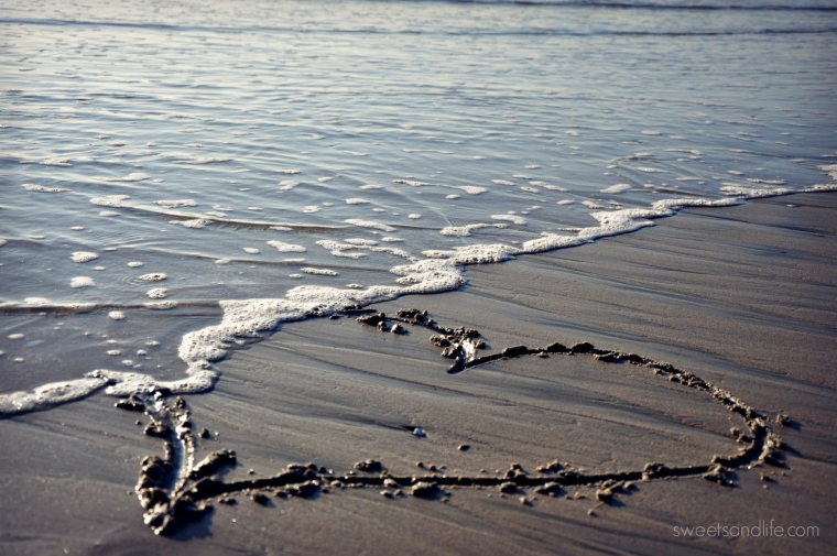 Sweets and Life: Heart & Ocean