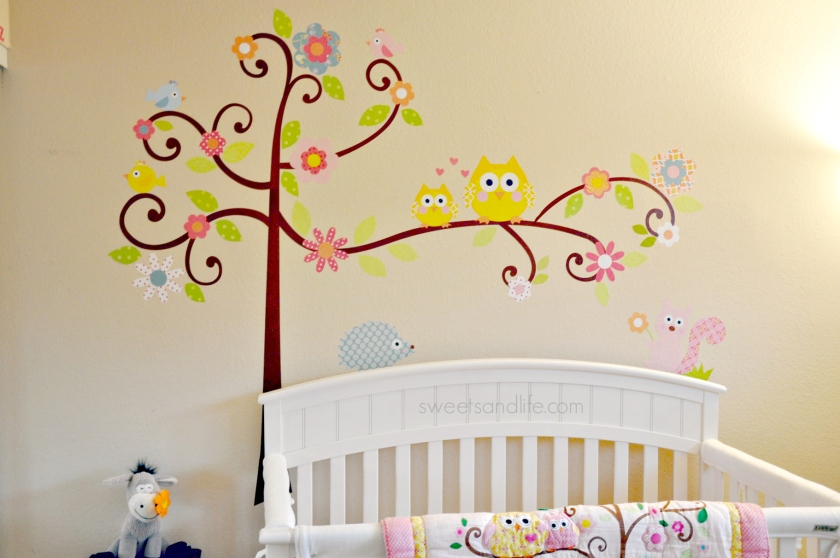 Our Little Buttercup S Cute Owl Nursery Sweets And Life