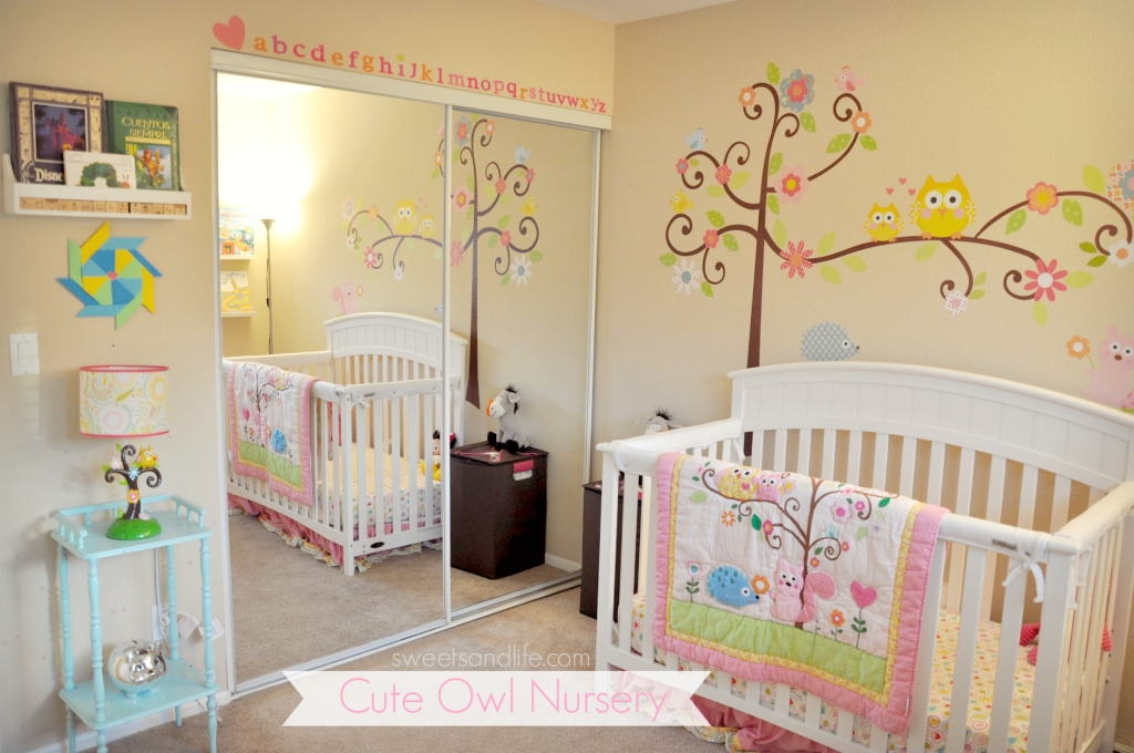 Cute Owl Nursery - Sweets and Life