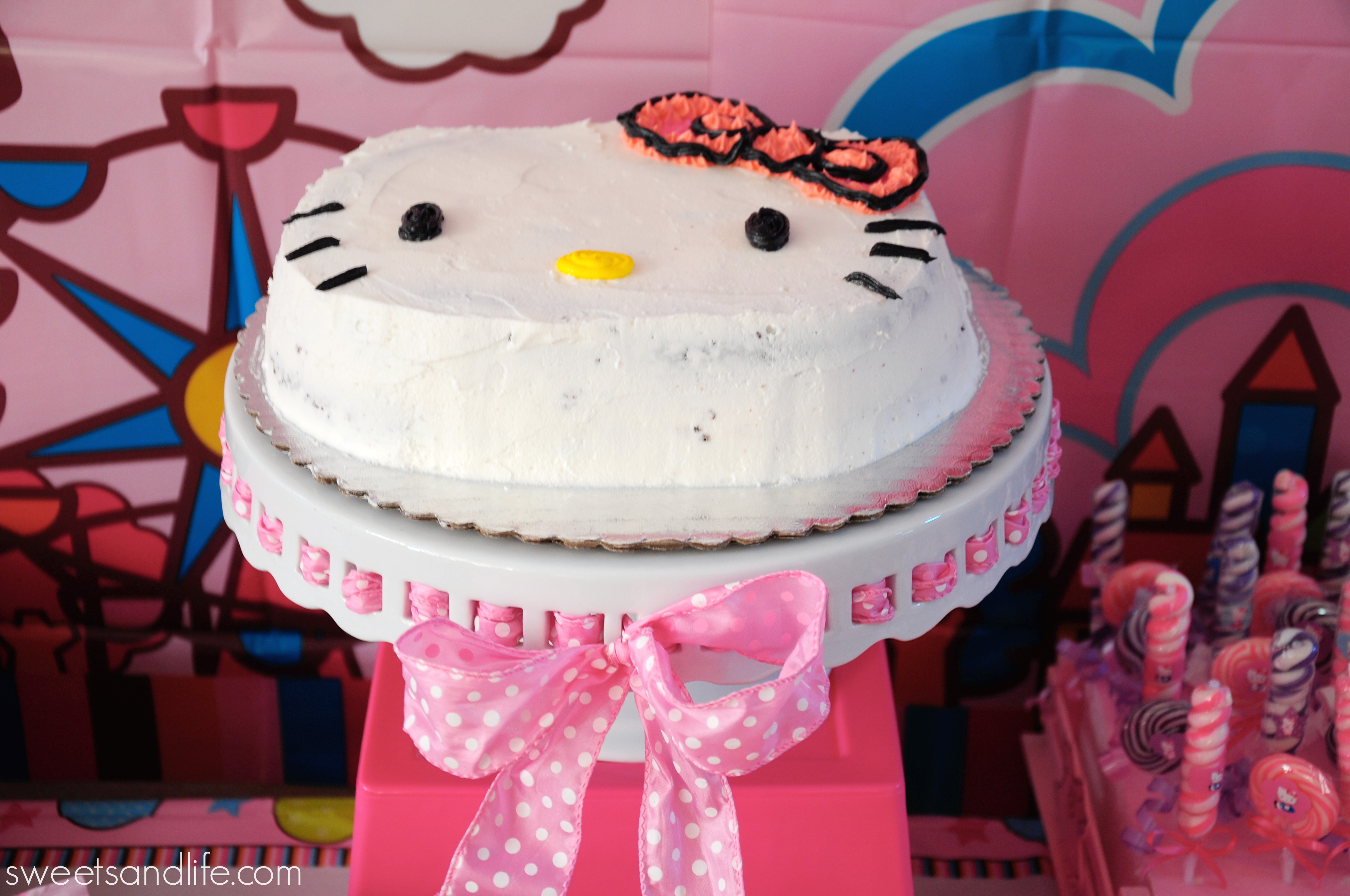 Hello Kitty Baby Shower Cake Part - 49: Sweets And Life: Hello Kitty Baby Shower (dessert Table)