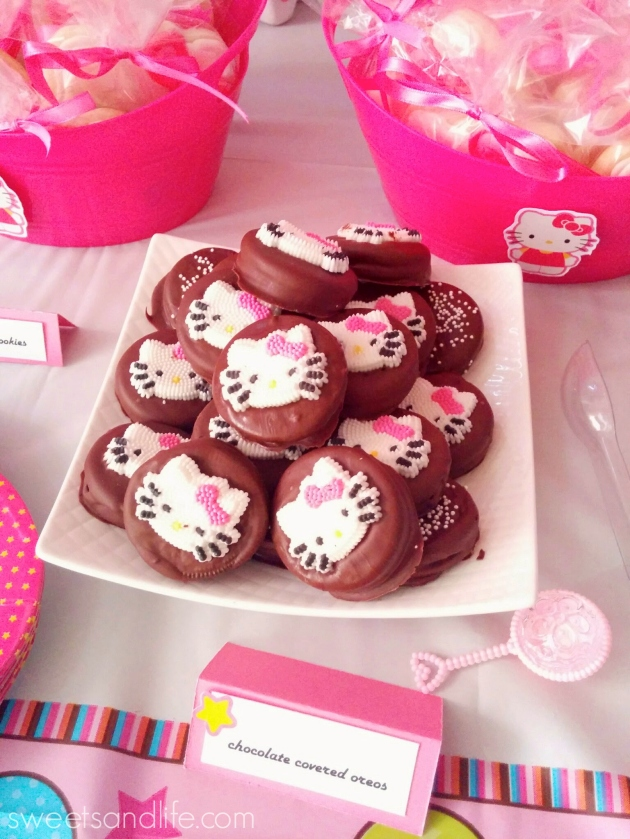 Sweets and Life: Hello Kitty Baby Shower (dessert table)