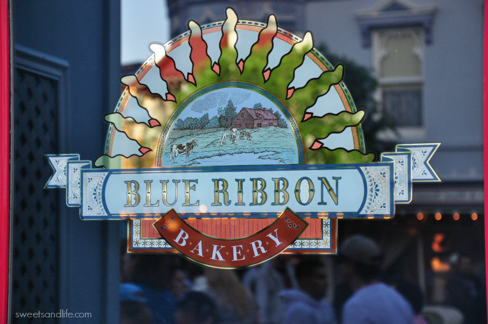 Sweets and Life: Blue Ribbon Bakery Disneyland