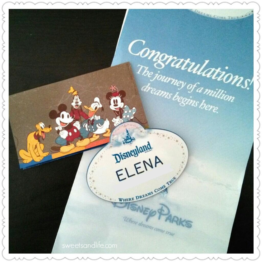 Sweets and Life: Cast Member name tag