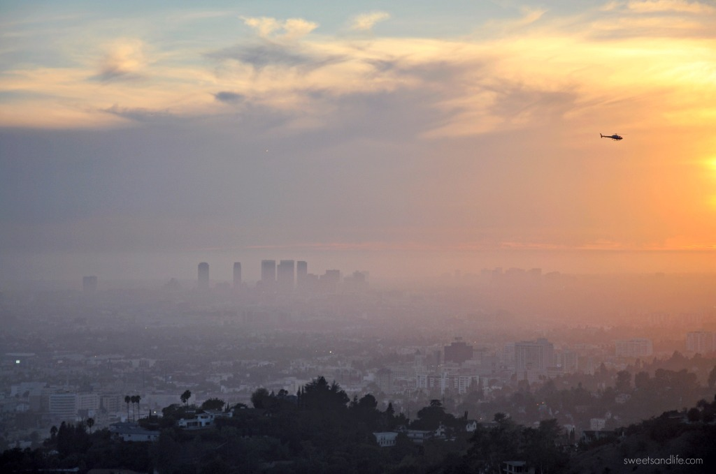 Sweets and LIfe: Sunset over Los Angeles